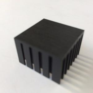 Image 2 - 10 teile/los 22x22x15mm Aluminium kühler Kühlkörper Kühlkörper für elektronische Chip KÜHLER kühlung
