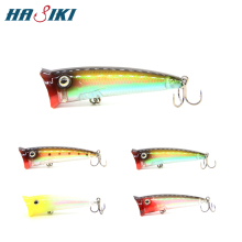 HASIKI Hot Fishing Lures 70mm 11g Bait Poper Popper With BKK Hooks
