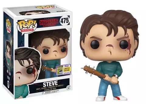 2017 Summer Con Exclusive & SDCC Sticker Funko pop Official Stranger Things - Steve Vinyl Figure Collectible Model Toy стоимость