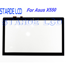 купить 15.6''LCD Replacement for ASUS X550 LCD Display Touch Screen Digitizer Assembly X550 Screen Replacement дешево