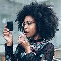 8A Glueless Cheia Do Laço Perucas de Cabelo Humano 130% Brasileira Afro Crespo Rendas Frente encaracolado Perucas de Cabelo Humano Rendas Frente Perucas Para Preto mulheres