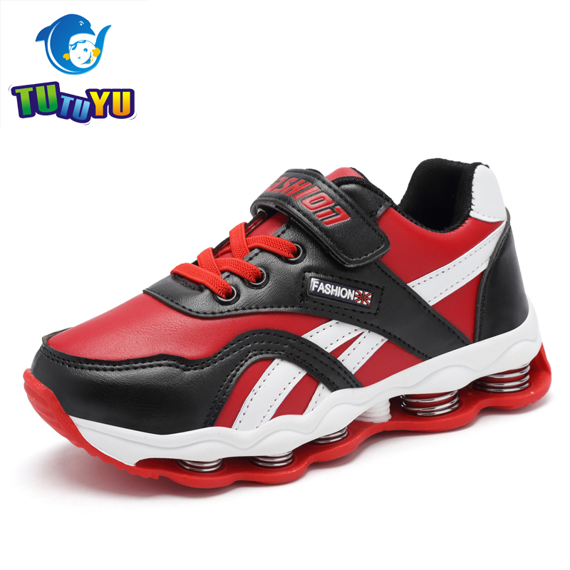 TUTUYU Children Boys and Girls Glowing Sneakers Spring Shoes Running Shoes Breathable Surface Girl Sports  children s shoes girls boys casual sports shoes anti slip breathable kids sneakers spring fashion baby tide children shoes