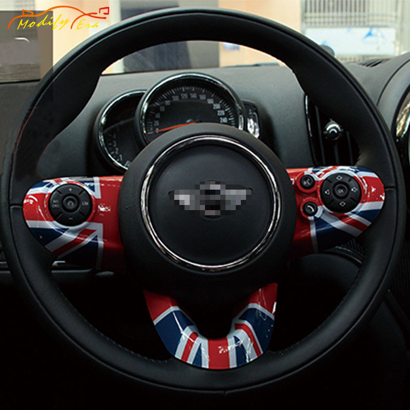 Carbon Fiber Steering Wheel Cover Set for Mini Cooper JWC F54 F55 F56 F57