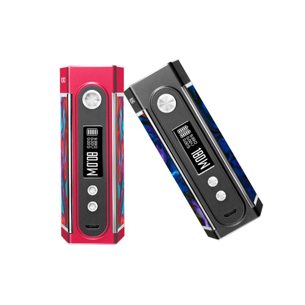 New Original VOOPOO TOO Resin 180W TC Box MOD Double Sidesilp Covers with Gene Chip 0.01S Fast Firing No 18650 Battery E-Cig Mod