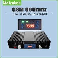 10 Вт большая мощность 40 дБм усиление 90 дБ 2 г GSM 900 МГц ретранслятор сигнала GSM 900 Усилитель мобильного сигнала ЖК-дисплей и AGC/MGC
