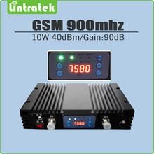 10 Вт большой Мощность 40dBm усиления 90dB 2 г GSM 900 мГц сигнал повторителя GSM 900 мобильный усилитель сигнала Усилители домашние с ЖК-дисплеем и agc/mgc