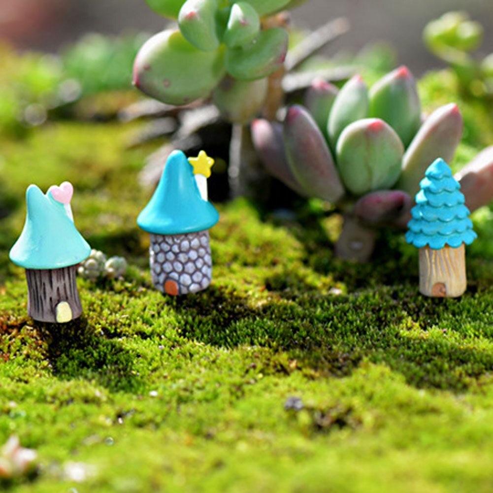 44 Stil Figurine Handwerk Blumentopf Garten Ornament Miniatur Fee Garten Deko XJ