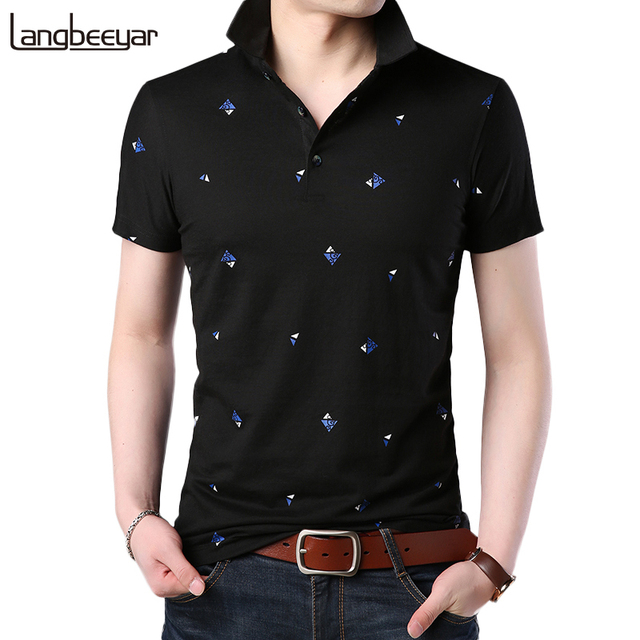 2018 New Fashion Polo Shirt Men Breathable Mens Polo Slim Fit Summer Shirts With Short Sleeve Turn Down Collar Brand Clothing