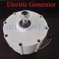 12 В 24 В 48 В низких оборотах генератор 300 Вт 400 Вт 600 Вт с постоянным магнитом для ветра генератор