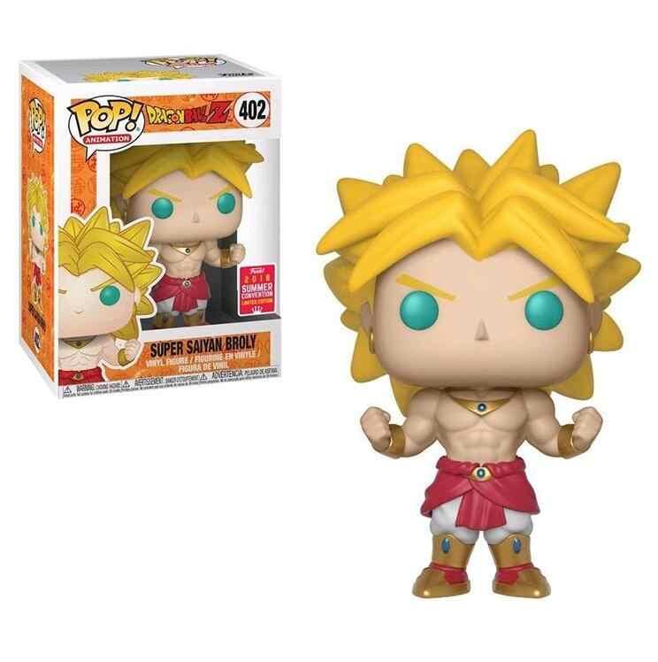 Funko Pop Figura de Ação Super Saiyan Dragon Ball Son Goku Frieza de Amina Collectible Modelo Crianças Brinquedos
