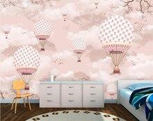 Custom 3d wallpaper cartoon hot air balloon wall paper sofa living room tv backdrop decorative painting god rewards diligent custom 3d stereoscopic large mural wallpaper tv backdrop wall paper bedroom living room tv wall painting