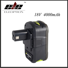 18V 4000mAh Li-Ion For Ryobi Hot P108 RB18L40 High Capacity Rechargeable Battery Pack Power Tool Battery for Ryobi for ONE+