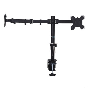 Image 4 - 3 Fully Adjustable Joints and Dual 2 bay Monitor Mount Desk Mount  for 2 Monitors Swiveling BE