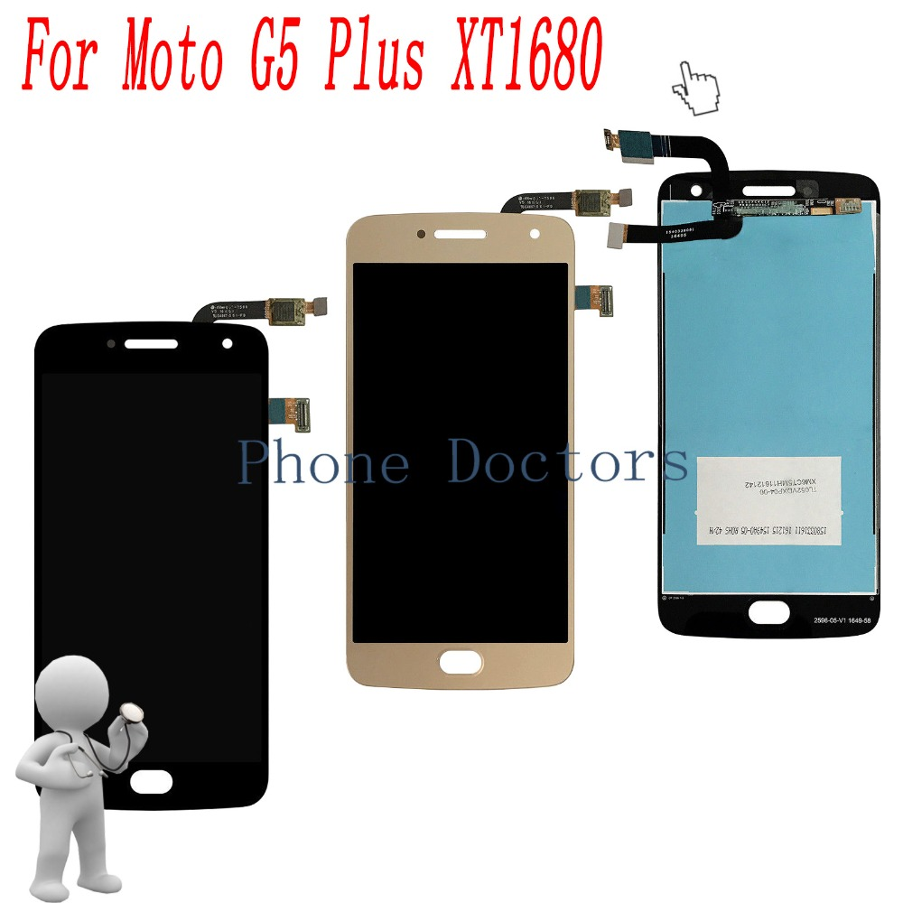 5.2 New Full LCD DIsplay + Touch Screen Digitizer Assembly For Motorola Moto G5 Plus XT1680 XT1681 XT1685 XT1686 XT16875.2 New Full LCD DIsplay + Touch Screen Digitizer Assembly For Motorola Moto G5 Plus XT1680 XT1681 XT1685 XT1686 XT1687