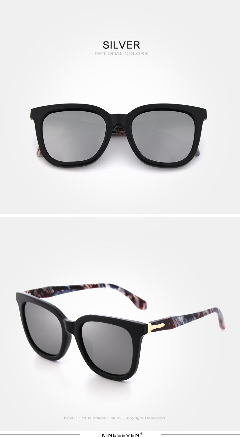 KINGSEVEN Vintage Style Sunglasses Women Brand Designer Shades Polarized Lens Sun Glasses Fashion Sunglasses Oculos De N7810 5