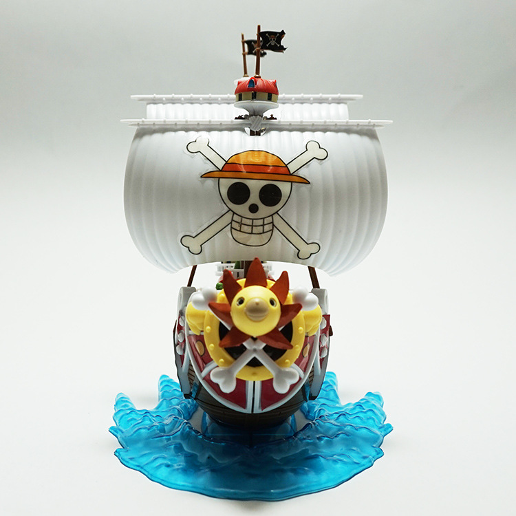 Assembled Pirate Model Nautical King Assembled Sonny Sunshine Wanli No. Block Sprinning Toy Figure Drone