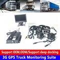 SD карта циклическая запись мобильный телефон пульт + позиционирование 3G GPS грузовик мониторинга комплект тяжелой техники/внедорожников/лег...