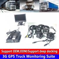 Sd-kaart loop opname mobiele telefoon remote + positionering 3G GPS truck monitoring kit zware machines/off- road/personenauto