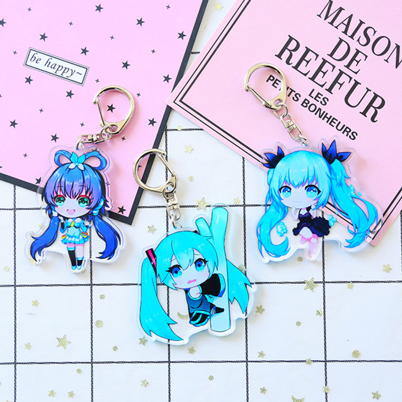 1-pcs-bonito-4-tipos-anime-font-b-hatsune-b-font-miku-brinquedo-chaveiro-charme-cosplay-presente-souvenir-keychain-acrilico