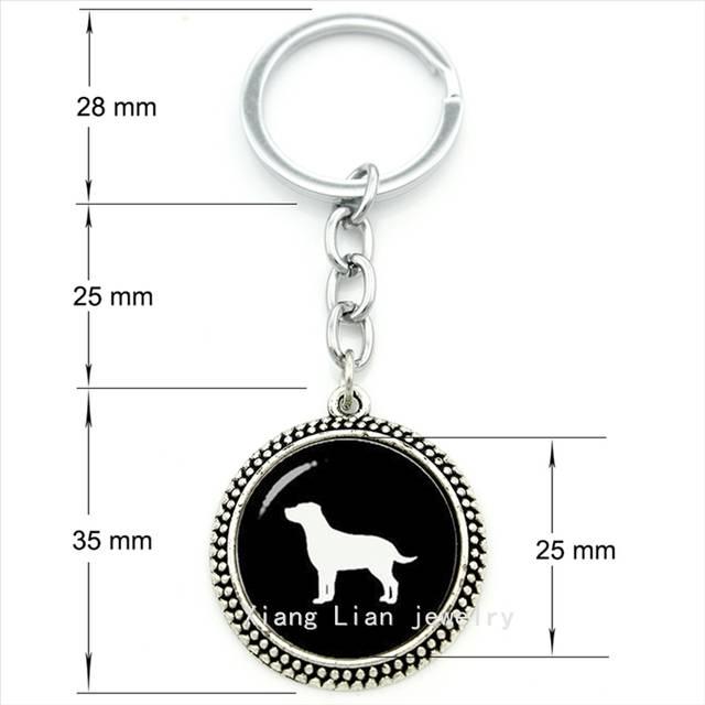 3cc18290ee Online Shop Cute animal pture pendant keychain Labrador Retriever Dog art  ring jewelry steampunk pet lovers gift boys, girls jewelry T367    Aliexpress ...