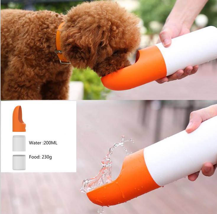 Portable Dog Water Bottle Pet Travel Water Bottle Cat: Portable Pet Dog Water Bottle For Small Large Dogs Travel