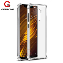 Transparent Cover Coque Case For Xiaomi Pocophone F1 Cases F