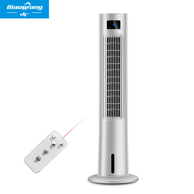 Lk1397 Home Touch On Led Screen Air Cooling Fan 4 In 1 Electric Plastic Remote