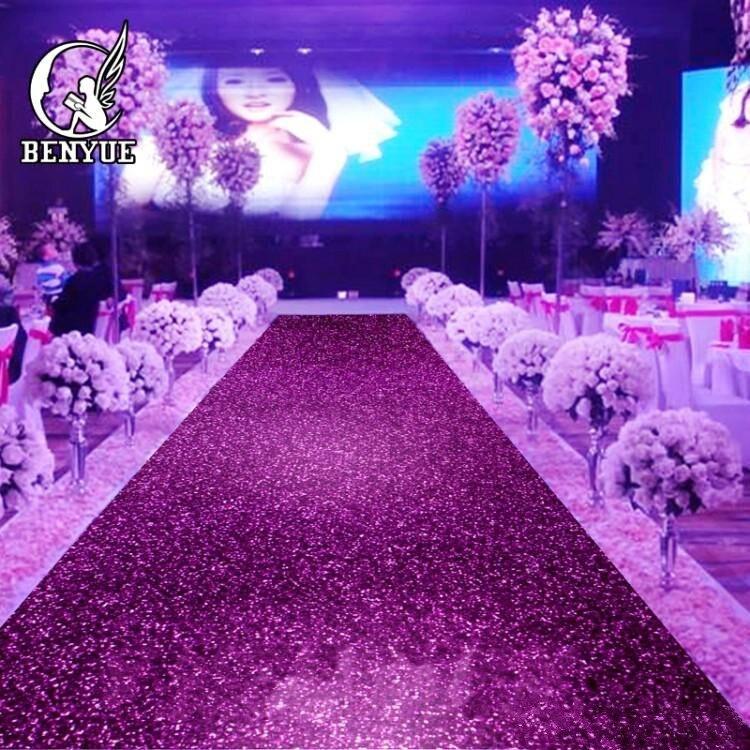 Blizganti raudona vestuvių dekoracija perlamutriniu kilimu, - Šventės ir vakarėliai - Nuotrauka 2