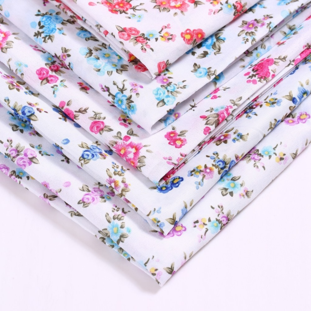 150cm wide begonia flowers polyester fabric