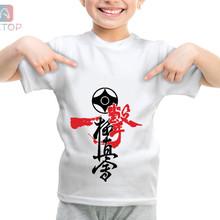 NEW Kyokushin Karate 015 Kingdom Funny T-shirt Kids Baby Summer Cute Clothes BoysG irls Tops Kyokushin Karate 015 T shirt