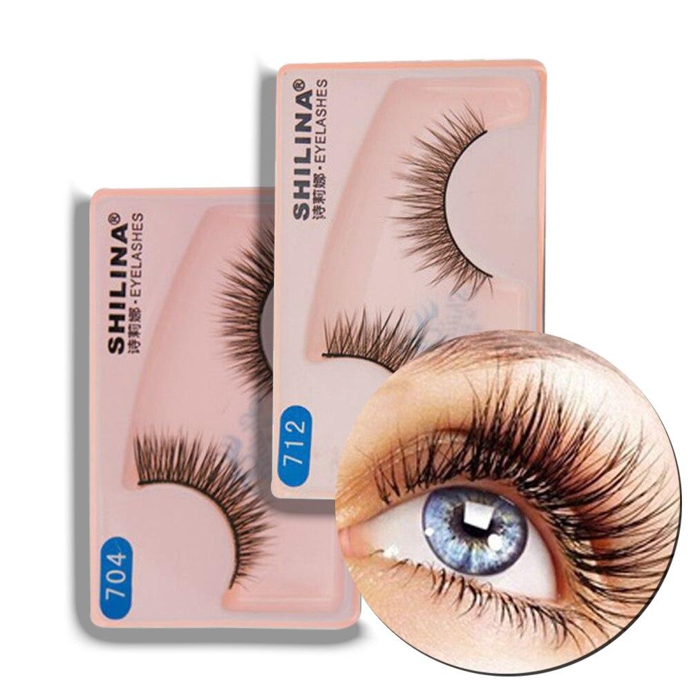 40 Pairs Cheap False Eyelashes Wholesale Natural Thick Eyelashes