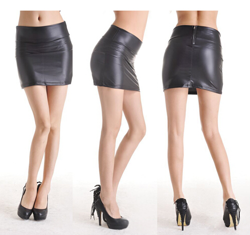 Tight Black Leather Skirt Promotion-Shop for Promotional Tight ...