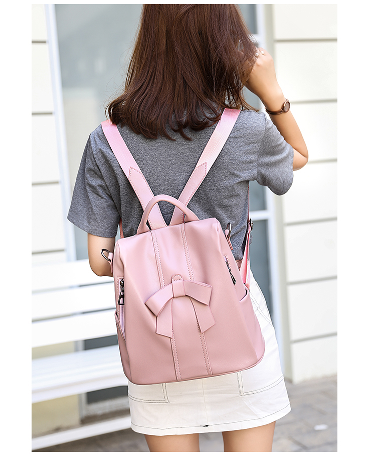 HTB1Fv.JhK3tHKVjSZSgq6x4QFXaP - Leisure Women Backpack High Quality Leather Lady Anti Theft Shoulder Bags Lovely Girls School Bags Women Traveling Backpack
