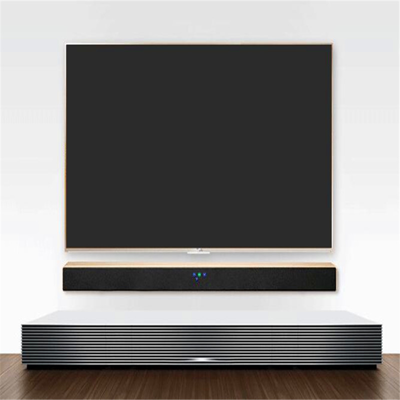 Soundbar Column for Smart TV Home Theaters Audio System Bluetooth Wood Acoustics Wall Music Center Active Speakers