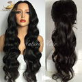 8A Glueless Full Lace Wigs Peruvian Virgin Hair Lace Front Human Hair Wigs Body Wave Full Lace Human Hair Wigs For Black Women