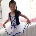 Novas Crianças Meninas Rendas Leotards Ballet Profissional Tutus de Balé Dancewear Princesa roupas de dança Roupas de Ginástica Collant