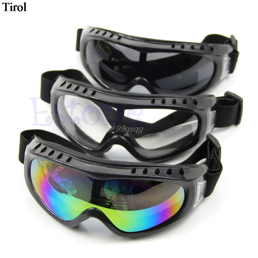 Outdoor Coated Safety Skiing Riding Goggles Sport Dustproof Sunglass Eye Glasses Drop shipping