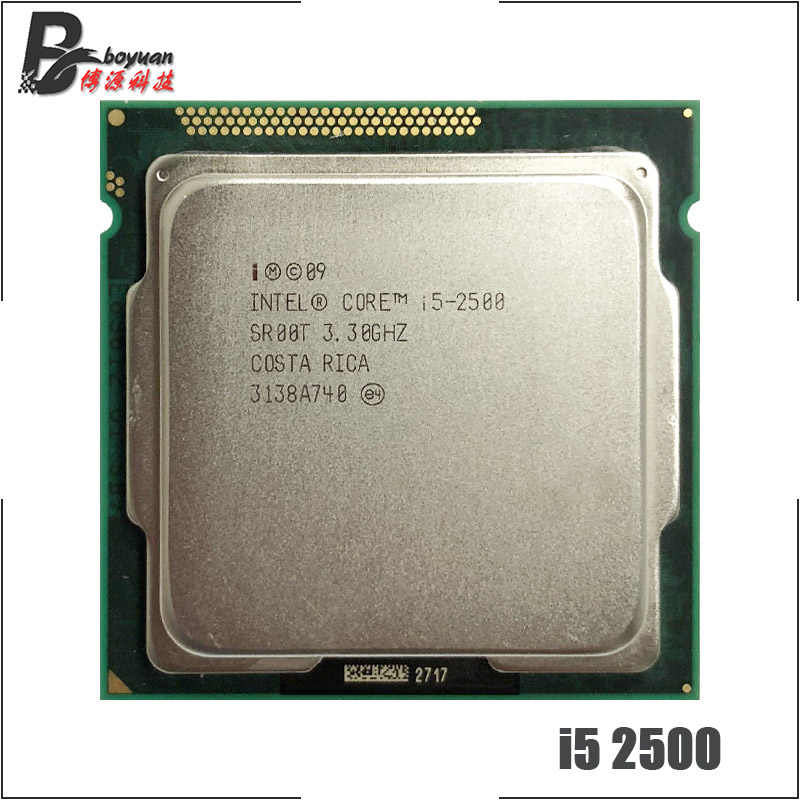 Intel Core i5-2500 i5 2500 3.3 GHz Quad-Core CPU Processor 6M 95W LGA 1155