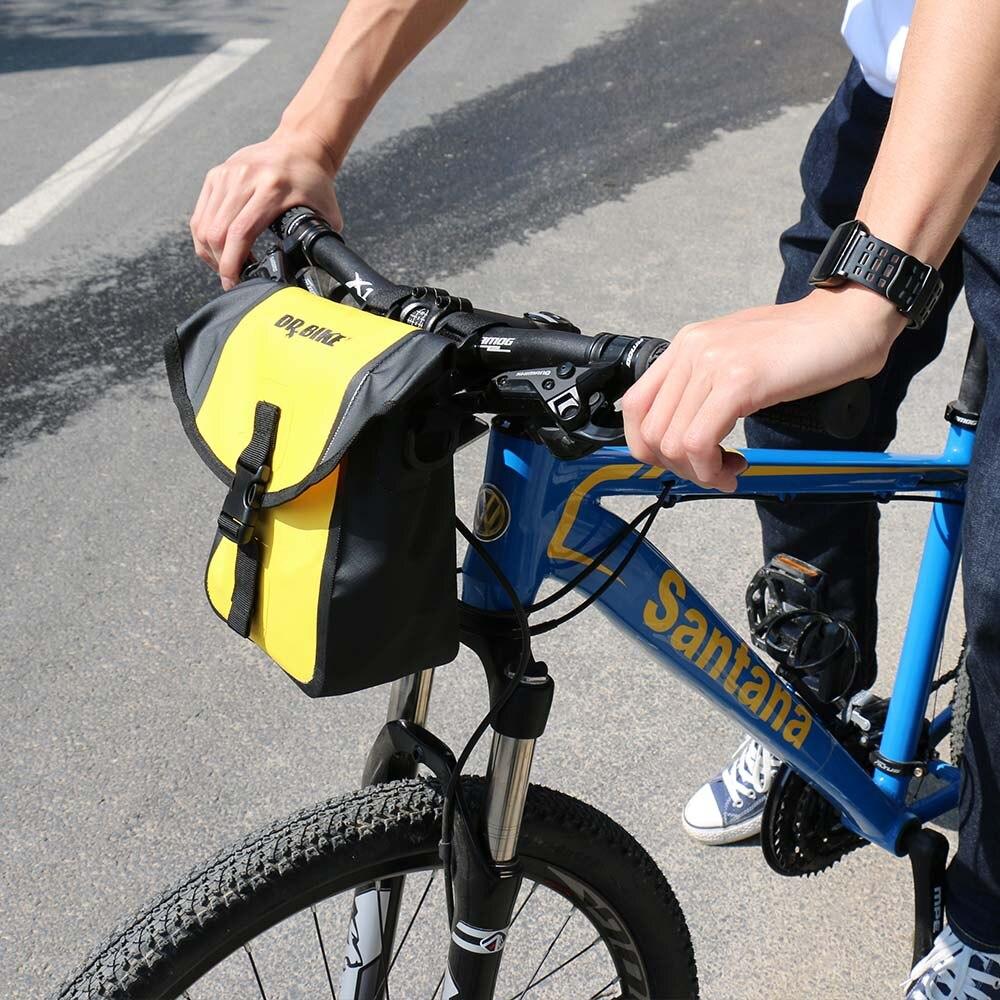 Drbike корзина для руля велосипеда Водонепроницаемая велосипедная сумка передняя многофункциональная велосипедная сумка велосипедные аксес...