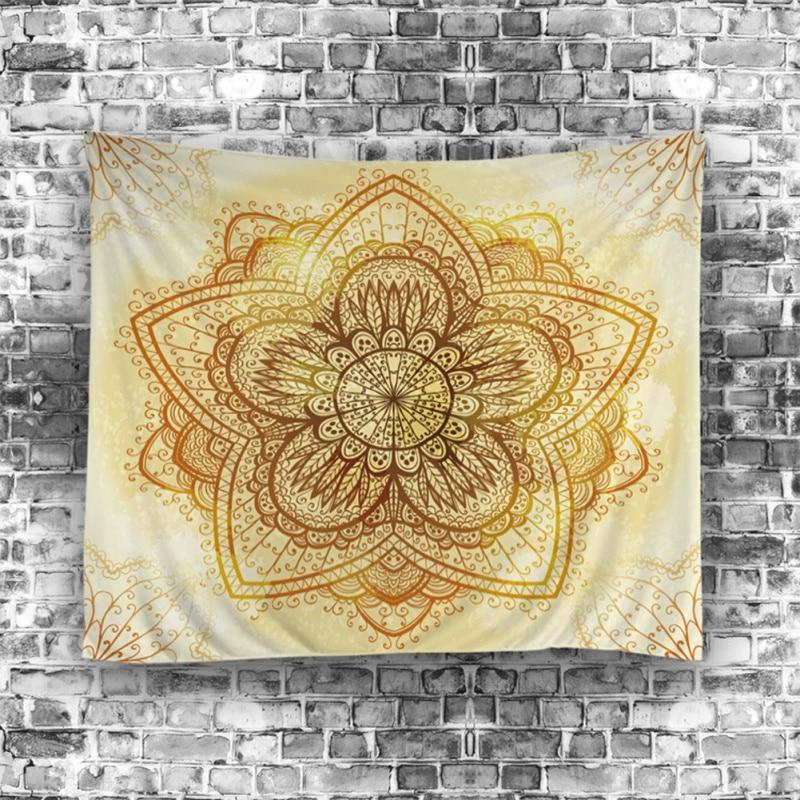 Indian Tapestry Yoga Decor By Mandala Zen Wall Meditation Batik ...