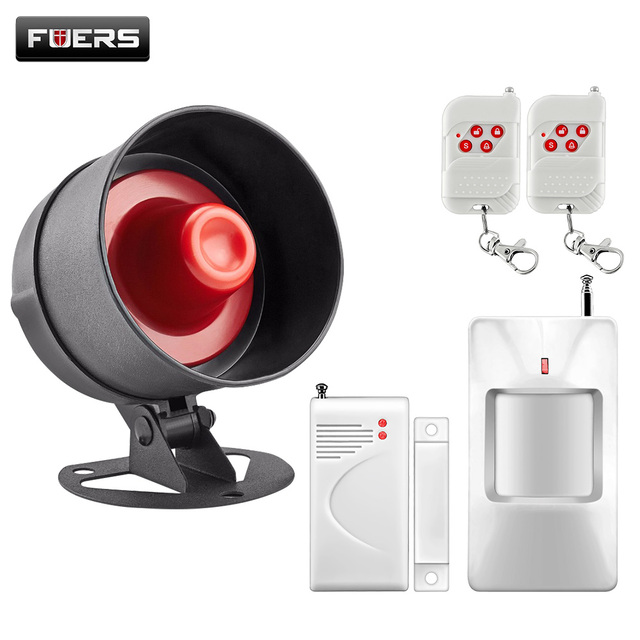 Wireless Home House Alarm Siren System Security Alarm System Easiest Control Home House Motion Sensor Door With Loudest Voice