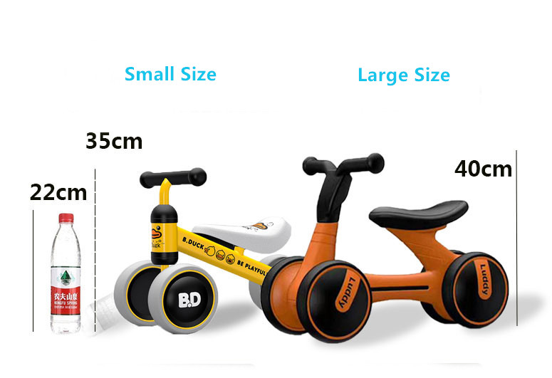 HTB1Fv14lvBNTKJjSszcq6zO2VXai New brand children's bicycle balance scooter walker infant 1-3years Tricycle for driving bike gift for newborn Baby buggy