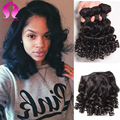 Brazilian Body Wave 4 Bundles 8A Mink Brazilian Virgin Hair Short Bob Wave Rosa Hair Products Brazilian Human Hair Weave Bundles