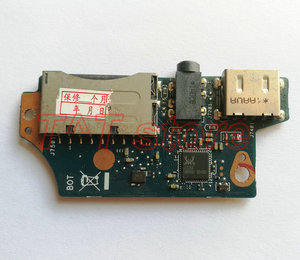 Оригинальный Для ASUS UX31E аудио разъем Usb порт SD кард-ридер, плата, тест, хороший, бесплатная доставка