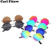 Модные детские солнцезащитные очки классические ретро милые очки принц очки мужские и женские детские универсальные солнечные очки UV400