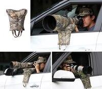 Portable Shooting Gun Butt Holder Buttstock Gunstock Shoulder Stock Hunting Sight Mount Sandbags For Car Window