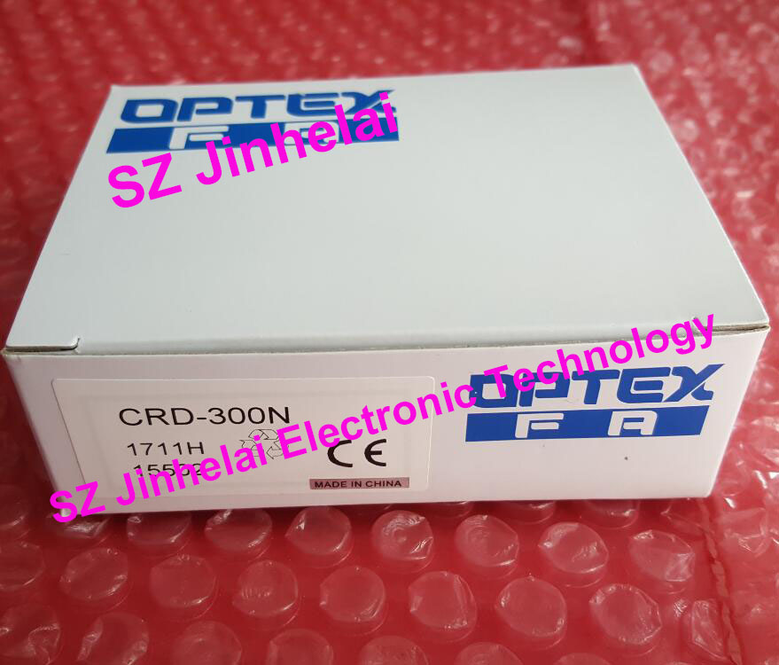 New and original CRD-300N OPTEX PHOTOELECTRIC SWITCH Photoelectric sensor new and original vd 300 optex photoelectric switch photoelectric sensor