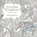 Animal Kingdom (+ 12 free pencil): Inky Treasure Hunt and Coloring Book For Children Adult  Best Gift