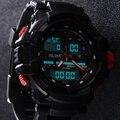 2016 Так Мужчины Цифровой СВЕТОДИОДНЫЙ Дисплей Кварцевые Часы Военный Спортивные Часы Montre Homme Relógio Masculino Водонепроницаемый Наручные Часы