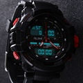 2016 Alike Men LED Display Digital Quartz Watch Army Military Sport Watches Montre Homme Relogio Masculino Waterproof Wristwatch
